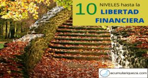 10 Niveles Hasta La Libertad Financiera: ¿En Qué Nivel Te Encuentras?